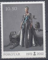 ++Faroe Islands 2012. Queen Margrethe II. AFA 734. Michel 738. MNH(**) - Faroe Islands