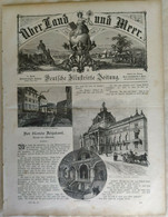 Über Land Und Meer 1893 Band 70 Nr 41 Dogenpalast Palazzo Ducale Venedig Venezia - Non Classificati