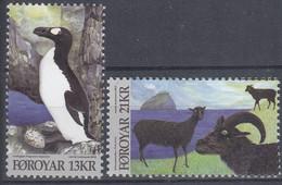 ++Faroe Islands 2012. Fauna. AFA 740-41. Michel 745-46. MNH(**) - Faroe Islands