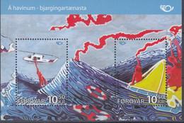 ++Faroe Islands 2012. NORDEN. Bloc. AFA 744. Michel 30. MNH(**) - Faroe Islands