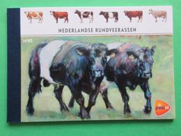 Nederland NVPH PR41 Nederlandse Rundveerassen 2012 Prestige Booklet MNH Postfris Fauna Cows - Carnets Et Roulettes