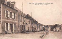 ¤¤   -   SAINT-BERTHEVIN   -  Le Bourg-Centre  -  Café Du Centre  -  Buffet  -  Pompe à Essence      -  ¤¤ - Otros Municipios