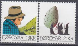 ++Faroe Islands 2012. Nordic Art. AFA 758-59. Michel 761-62. MNH(**) - Faroe Islands