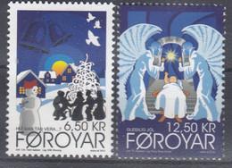 ++Faroe Islands 2012. Christmas Stamps. AFA 761-62. Michel 764-65. MNH(**) - Faroe Islands