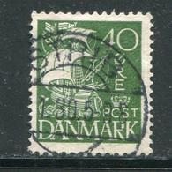 DANEMARK- Y&T N°186- Oblitéré - Usado
