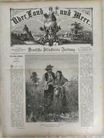 Über Land Und Meer 1893 Band 70 Nr 36. Kaizer Italien Italia Neapel Napoli  Luzern Schweiz. Lucerne Switzerland - Non Classificati