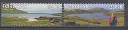 ++Faroe Islands 2018. Lakes. AFA 905-06. Michel 914-15. MNH(**) - Faroe Islands