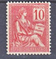 France 116 Mouchon Bien Centré Neuf ** TB  MNH Cote 250 - Unused Stamps