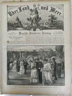 Über Land Und Meer 1893, Band 70, Nr 35. Kaiser In Rom. Neapel Napoli  Re Italia König Italien. Wien - Non Classificati