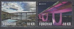 ++Faroe Islands 2018. EUROPA. AFA 914-15. Michel 924-25. MNH(**) - Faroe Islands