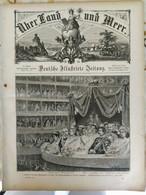 Über Land Und Meer 1893, Band 70, Nr 34. Kaiser In Rom. Württemberg. Marienbad - Non Classificati