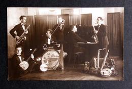 Cartolina Musicisti Anni 20/30 - Music And Musicians