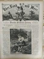 Über Land Und Meer 1893, Band 70, Nr 32. Jaffa Jerusalem Israel Alexander Serbia Serbien - Non Classificati