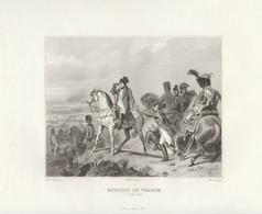 """1809   Napoléon 1er      """" La Bataille De Wagram  """" Par Horace Vernet - Prenten & Gravure"""