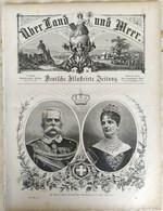 Über Land Und Meer 1893, Band 70, Nr 30. Italien Italia. Hamburg Potsdam - Non Classificati