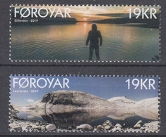 ++Faroe Islands 2019. Lakes. AFA 935-36. Michel 946-47. MNH(**) - Faroe Islands