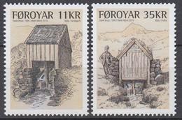 ++Faroe Islands 2019. Old Watermills. AFA 938-39. Michel 958-59. MNH(**) - Faroe Islands