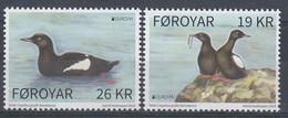 ++Faroe Islands 2019. EUROPA. Birds. AFA 940-41. Michel 955-56. MNH(**) - Faroe Islands