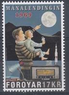 ++Faroe Islands 2019. Moon Landing. AFA 942. Michel 954. MNH(**) - Faroe Islands