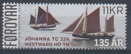 ++Faroe Islands 2019. Sailships. AFA 951. Michel 963. MNH(**) - Faroe Islands