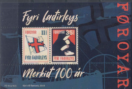 ++Faroe Islands 2019. Children Charity. Bloc. AFA 949. Michel 52. MNH(**) - Faroe Islands