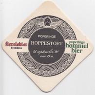 Poperinghe Poperinge Hoppestoet 90 Kerelbier Krombeke  Ancien Sous-bock Coaster - Beer Mats