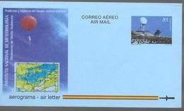 ESPAGNE  Aerogramme Meteorologie - Klima & Meteorologie