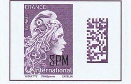 2020 Marianne International Surchargée SPM - Ungebraucht