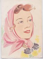 Barday Barré-Dayez - Portrait De Femme BD 1335 V - Barday