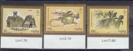 Malta 1995 - European Nature Conservation Year, Mi-Nr. 964/66, MNH** - Malta