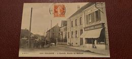 Ancienne Carte Postale - Valdoie - L'entrée , Route De Belfort - Valdoie