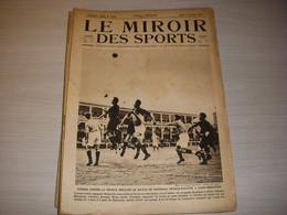 MIROIR Des SPORTS 135 01.02.1923 FOOTBALL FRANCE ESPAGNE 0-3 BOXE MASCART WYNS - Sport