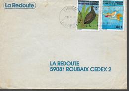 CAMEROUN   Lettre  Oiseaux Perdrix - Grey Partridge