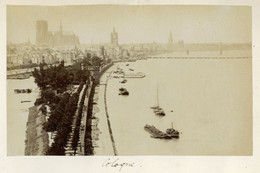 Albumen Photo - Cologne GERMANY (16 X 9.5cm) - Anciennes (Av. 1900)