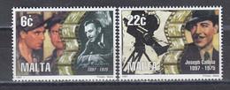 Malta 1997 - 100th Anniversary Of Joseph Calleia, Actor, Mi-Nr. 1014/15, MNH** - Malta