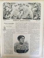 DAS BUCH Für ALLE 1897 Nr 28. München. Victoria Von England. Bulgarien - Non Classificati