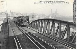 A/173         75     Paris         Métro   - Ligne N° 2 Sud  étoile-italie - Metro, Estaciones