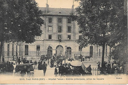 A/173           75    Paris  20 Xx          Hopital Tenon        Entrée Principale - Distrito: 20