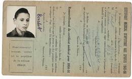 Beaune - Licence De Football - Association Sportive Beaunoise - Carlot Jean 1949/50 - Altri