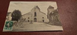 Ancienne Carte Postale - Chagny - Place De L'église - Chagny