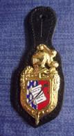 Insigne Ecole Des Officiers De La Gendarmerie Nationale - EOGN - Policia