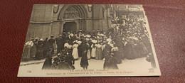 Ancienne Carte Postale - La Delivrance - Anniversaire Du Couronnement De La Vierge - Sortie De La Chapelle - Other Municipalities