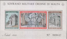 Sovrano Militare Ordine Di Malta - S.M.O.M. 1970 UnN°62 BF3 MNH/** (vedere Scansione) - Malte (Ordre De)