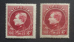 BELGIE  1929  Grote Montenez    Nr. 292 A - 292 B      Tand. 14    Postfris **       CW 85,00 - 1929-1941 Gran Montenez