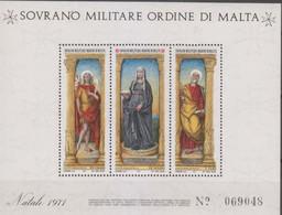 Sovrano Militare Ordine Di Malta - S.M.O.M. 1971 UnN°74 BF4 MNH/** (vedere Scansione) - Malte (Ordre De)