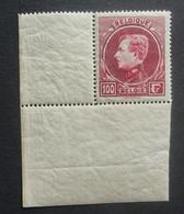 BELGIE  1929  Grote Montenez    Nr. 292 B   Met Hoekbladboord    Tand. 14    Postfris **       CW 50,00 - 1929-1941 Gran Montenez