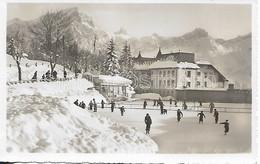 AK OLD REAL PHOTO POSTCARD - SUISSE - INSTITUTION BEAU - SOLEIL VILLARS S. OLLON - ANIMATA , VIAGGIATA 1956 - A34 - VD Vaud