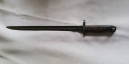 BAIONNETTE  ANGLAISE 1907 LEE ENFIELD WW1 -- 02 - Knives/Swords