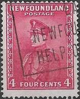 NEWFOUNDLAND 1932 Duke Of Windsor - 4c - Red AVU - 1908-1947