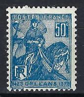 FRANCE 1929: Le Y&T 257, Neuf**, B Centrage - Nuovi